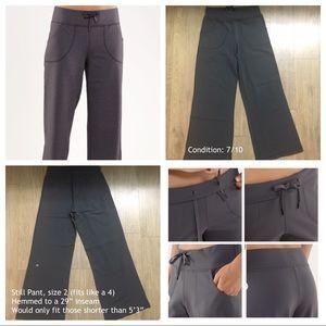 Lululemon Still Pant size 2 (but fits like a 4)